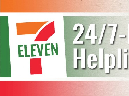 7 Eleven Helpline header Image