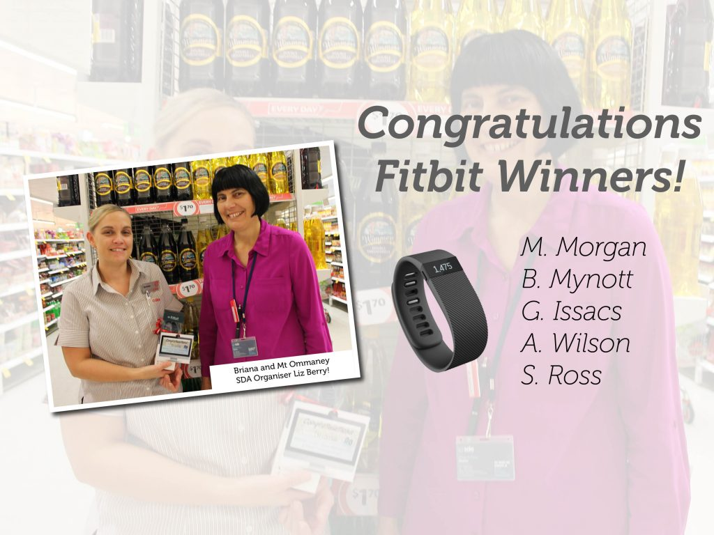 Fit Bit Winners Announced