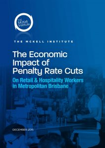 McKell Report The Economic Impact of Penalty Rate Cuts-1