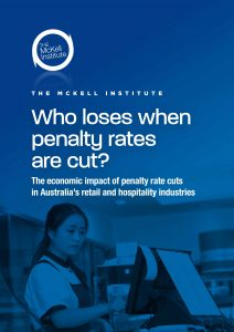 McKell Report Who loses when penalty rates are cut-1