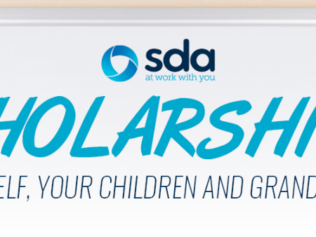 Student Scholarships from the SDA - Union for Retail, Fast Food and Warehousing