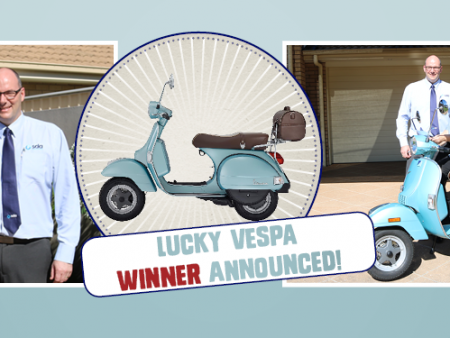 Vespa Competition SDA Union for Retail, Fast Food and Warehousing