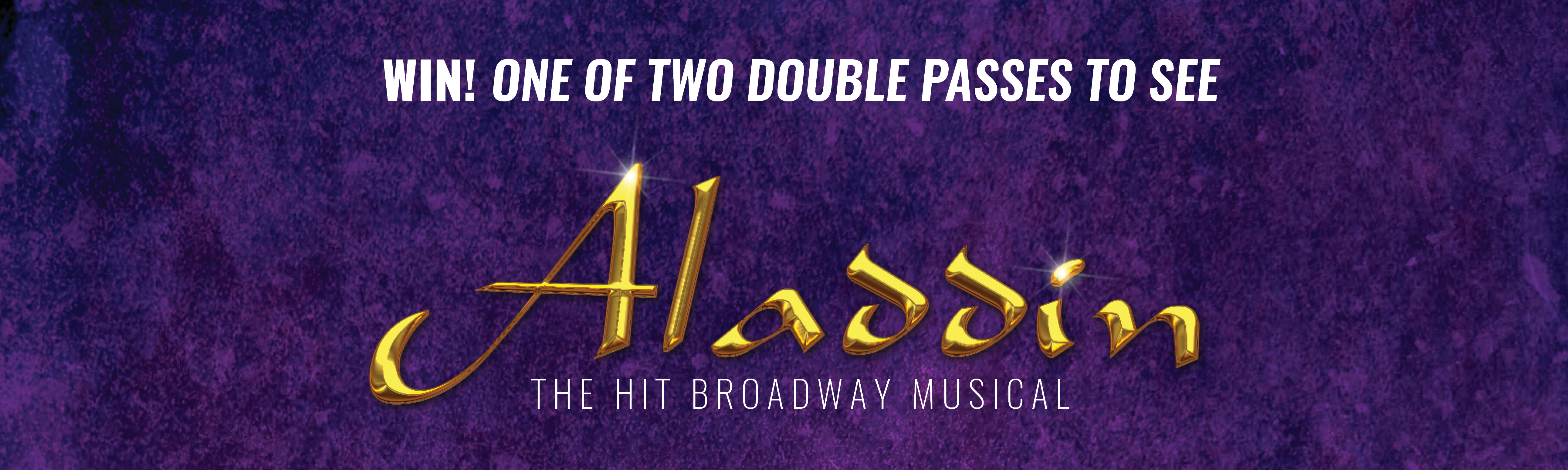 Win tickets to Aladdin with the SDA Union for Retail, Fast Food and Warehousing
