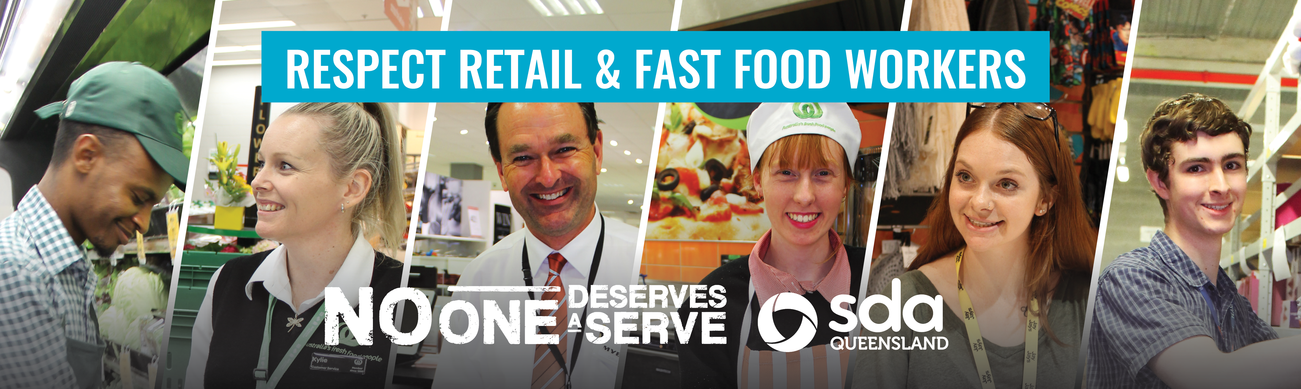 No One Deserves A serve - Respect Retail and Fast Food Workers